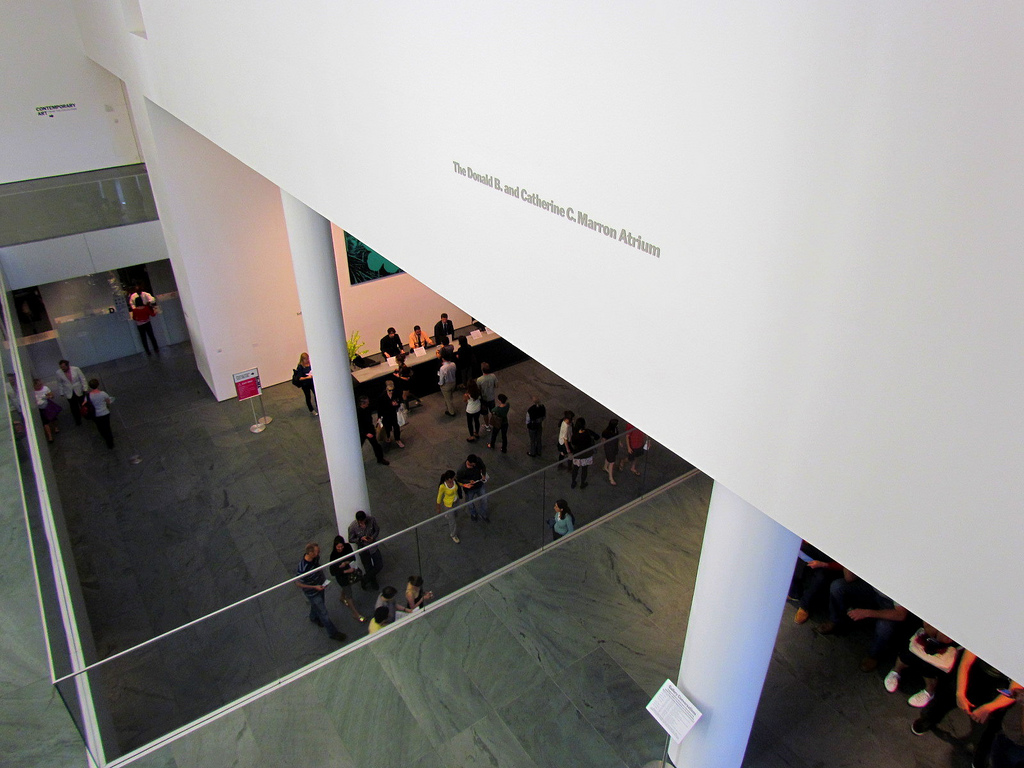 Be advised: the lines at MoMA can be long.  It's worth it, though.