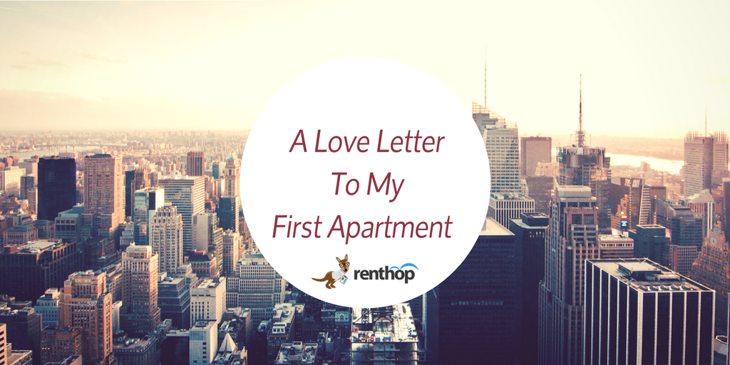 a love letter to my first apartment renthop