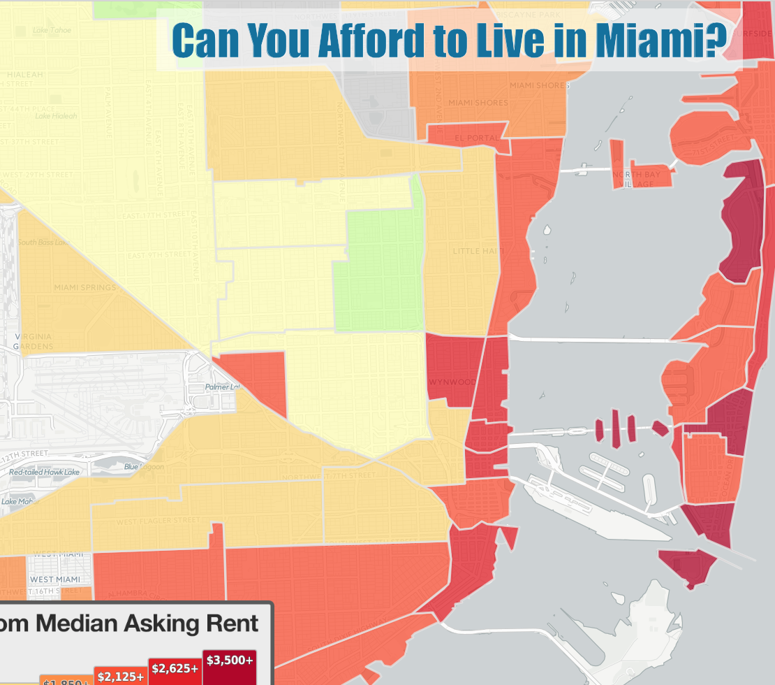 Can you afford to live in Miami?