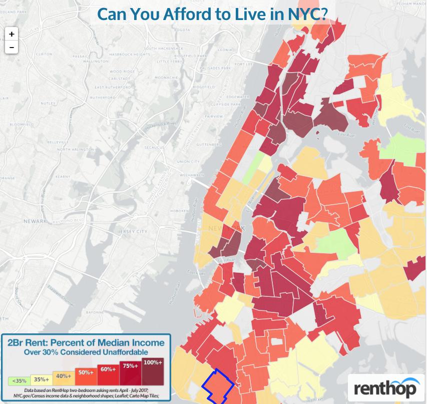 NYC Housing Affordability