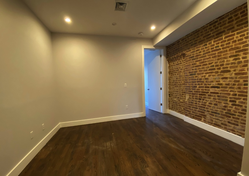apartment listing photo of empty living room space